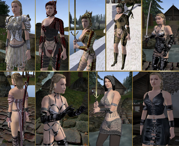 Morrowind Sexy Clothes 119